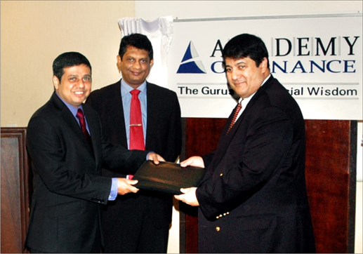 ICMA Australia sings MOU with The Academy of Finance